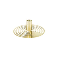 Rocklight Candle Holder Gold