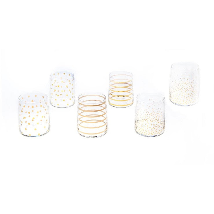 Metro Whisky Glass Set Of 6