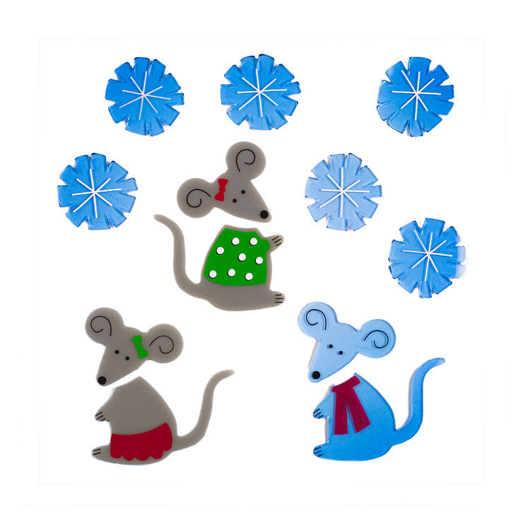 GelGems Christmas Mice