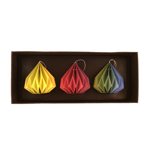 Rainbow Ornament Set