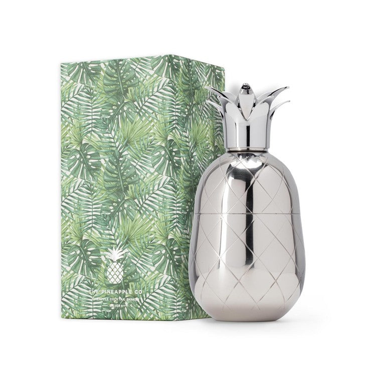 Pineapple Cocktail Shaker Silver