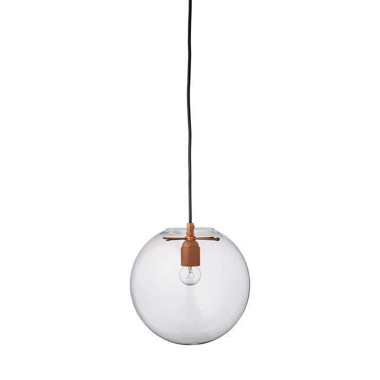 Round Glass Ball Pendant Lamp