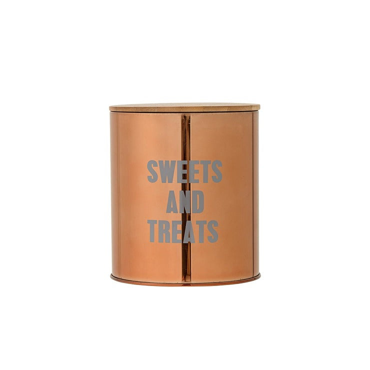 Sweets & Treats Container Copper