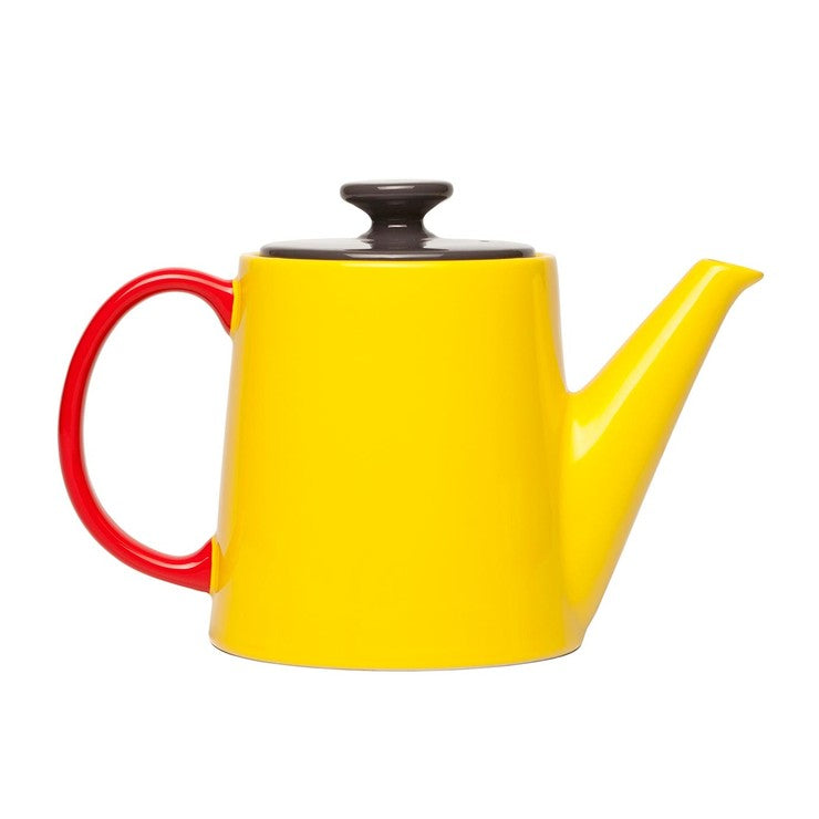 My Tea Pot Yellow Anthracite Red