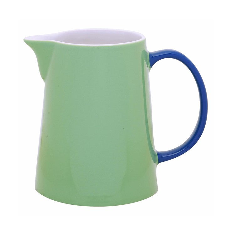 My Jug Large Green Handle Blue