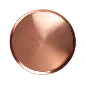 Tray Round Copper Large