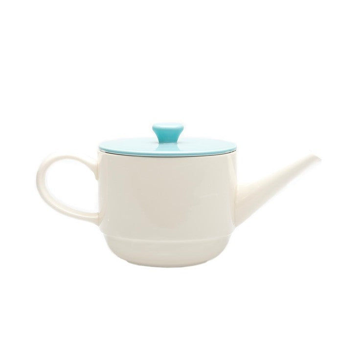 Teapot Loop White Lid Mint