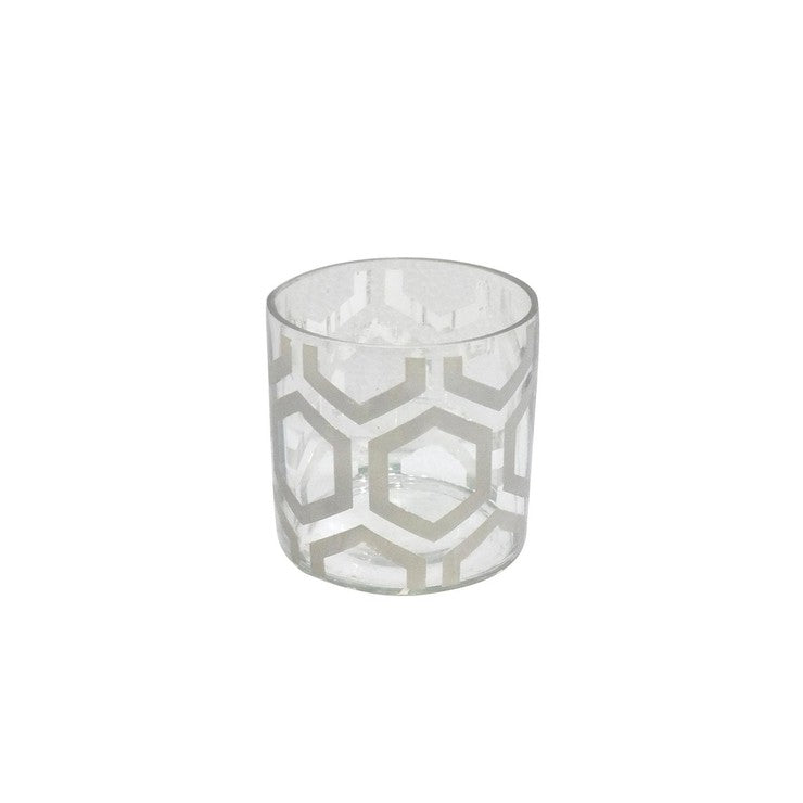 Glass Bamford Vase Smoke Small