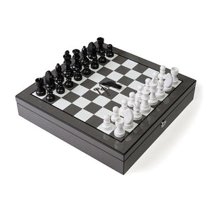 Carbon Fiber Chess Set