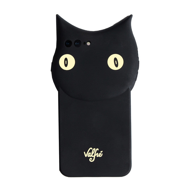 Black Cat 3D iPhone Case
