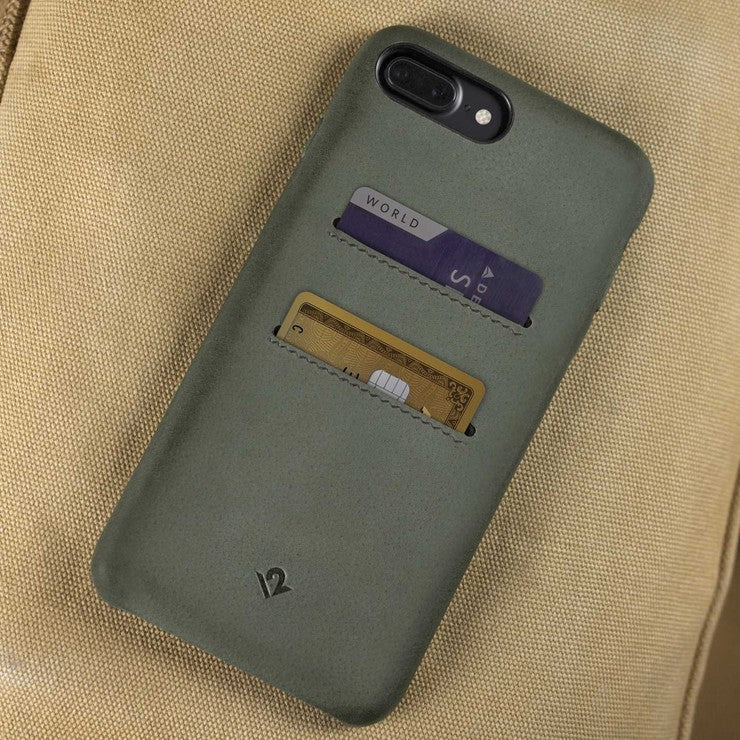 Leather iPhone Case + Pockets