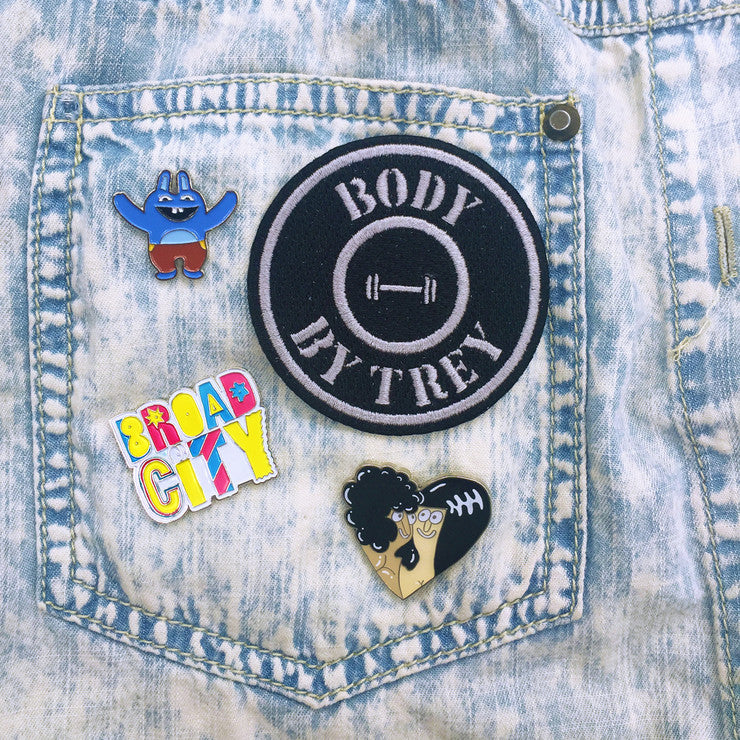 Body by Trey Pins & Patch Set