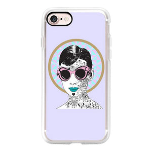 Audrey Shades iPhone Case
