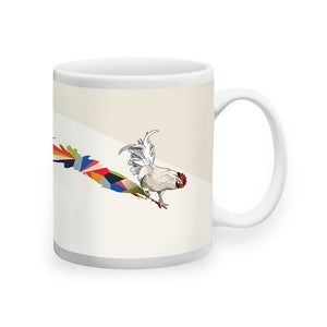 Shadow Rooster Mug