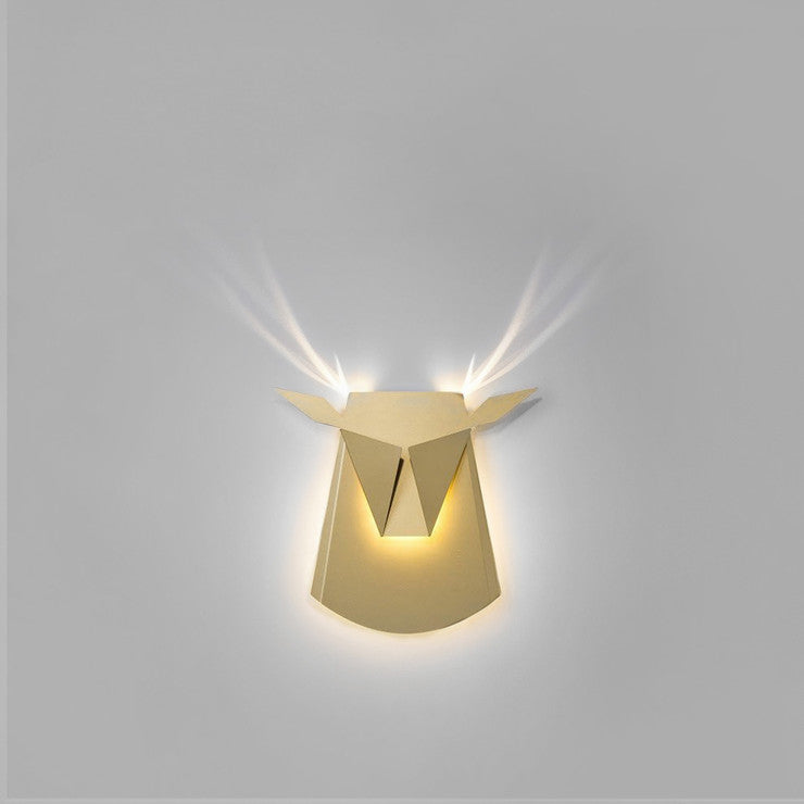 Aluminum Deer Light Gold