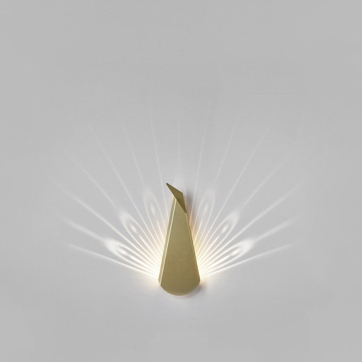 Aluminum Peacock Light Gold