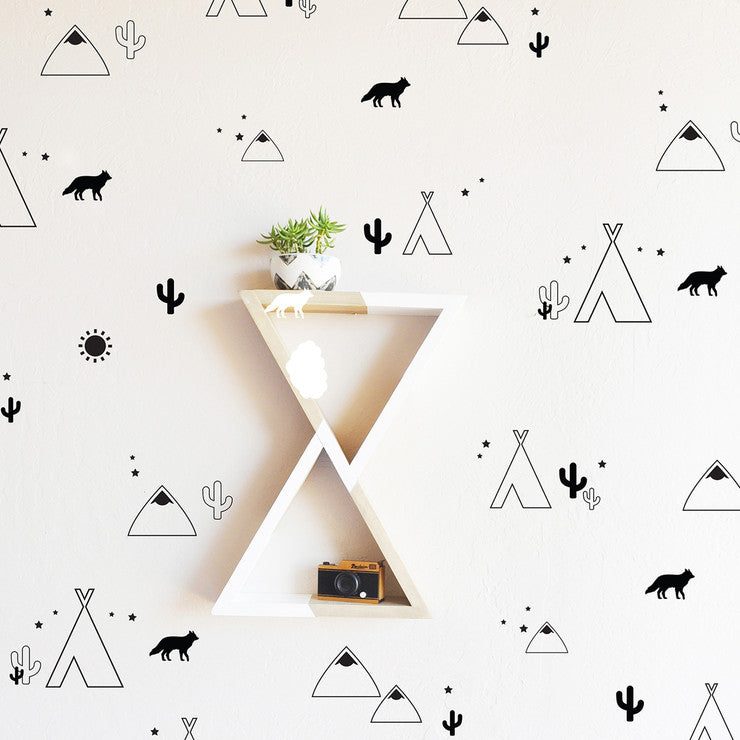 Desert Compilation Wall Decals