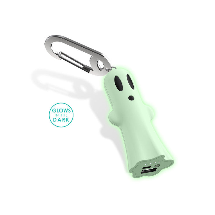 Ghost Clippable Portable Charger