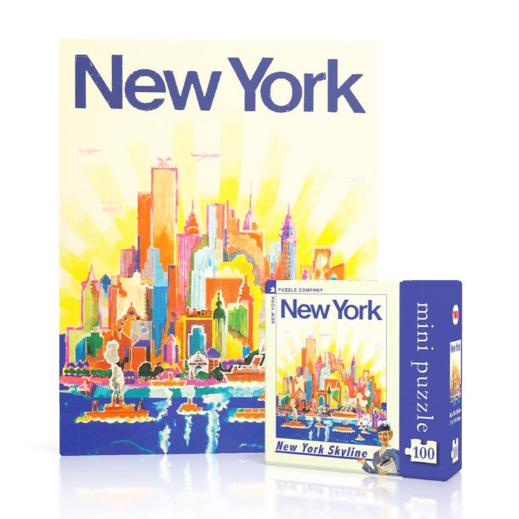 NYC Skyline Mini Puzzle