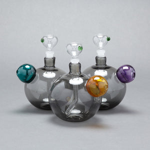 Bubble Bong Gray Gold