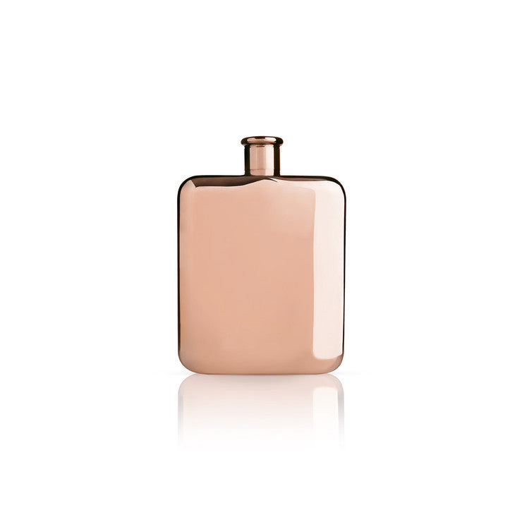 Copper Plated Flask