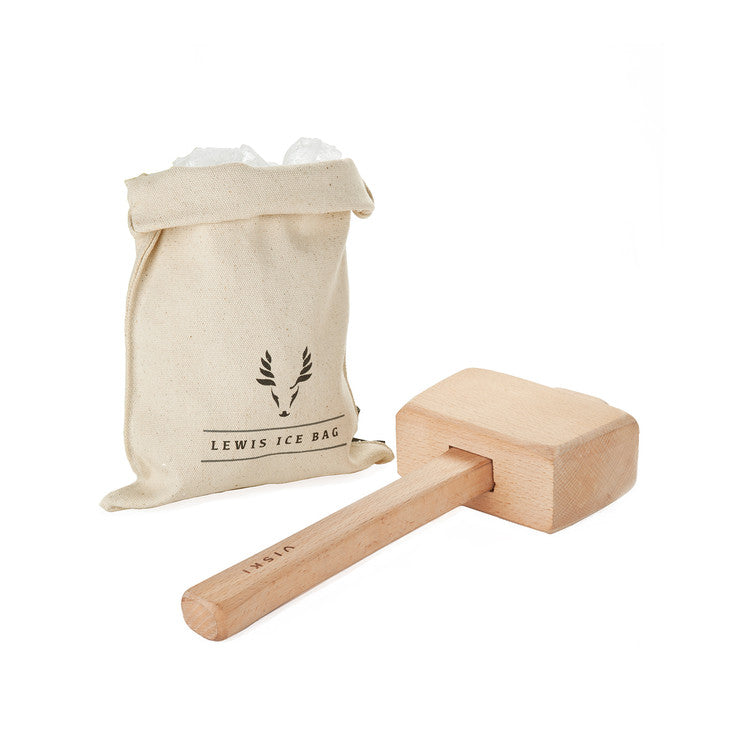Lewis Ice Bag and Mallet