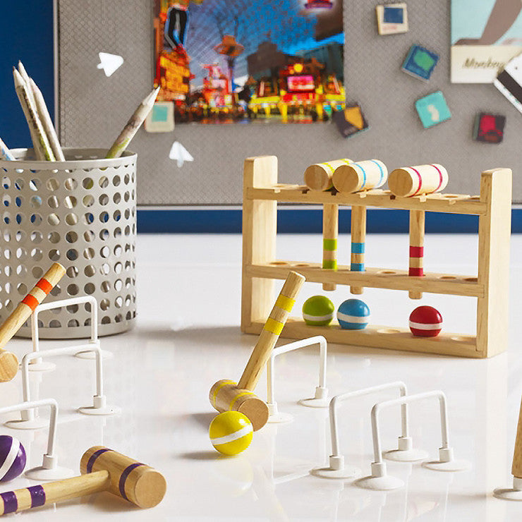 Desktop Croquet Set