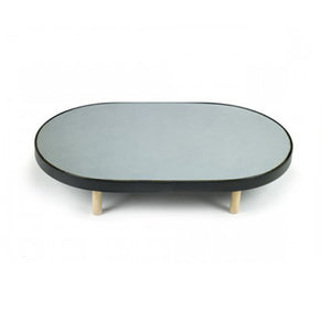 Simple Oval Mirrored Tray