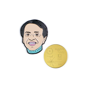 Carl Sagan Pin Set