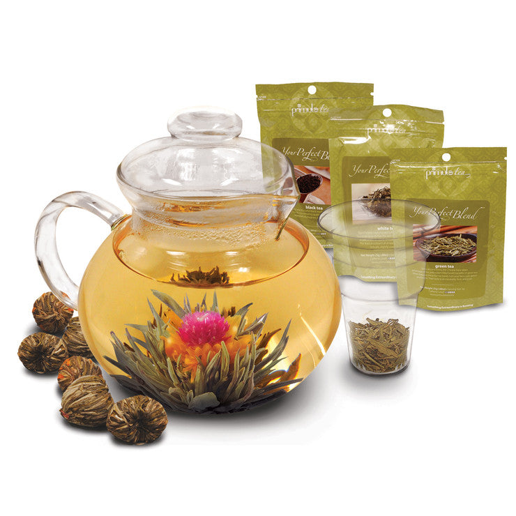 Flowering And Loose Tea Gift Set