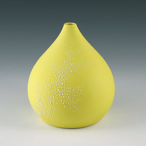 Small Pebble Vase Yellow