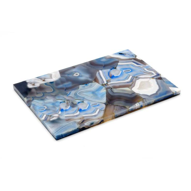 Blue Agate Tray 12x20