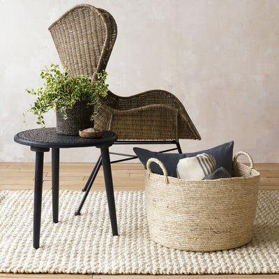 Amadora Chair in Black and Natural