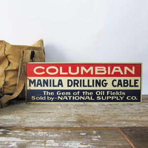Columbian Drilling Signage