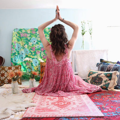 Magic Carpet Yoga Mat by Take Care Space