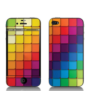 Cubes iPhone 4/4S Decal