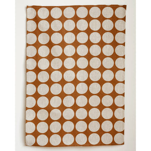 Just Dots Linen Tea Towel