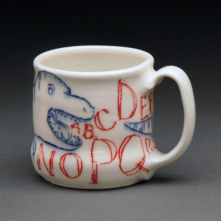 Alphabet and Dinosaur Cup