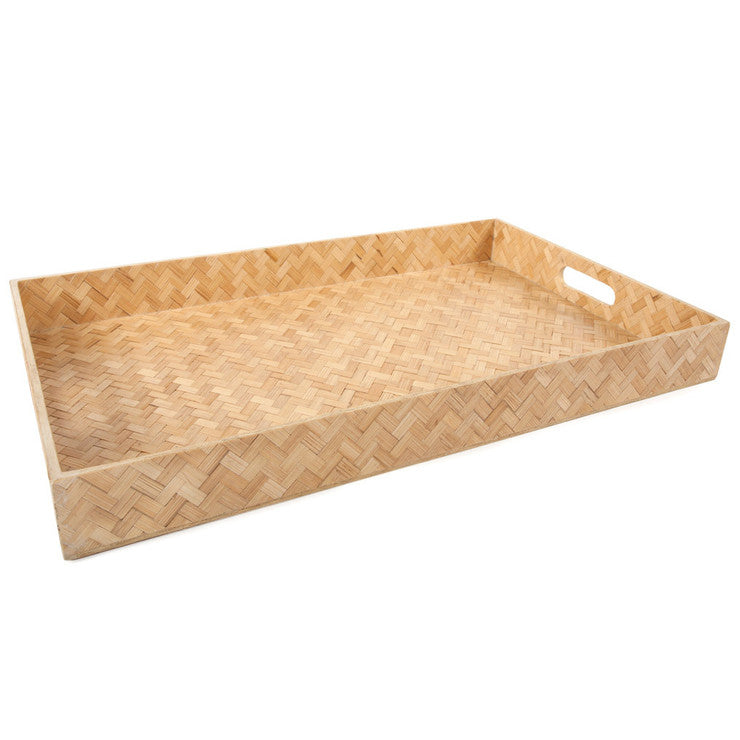 Extra Large Rectangle Woven Tray