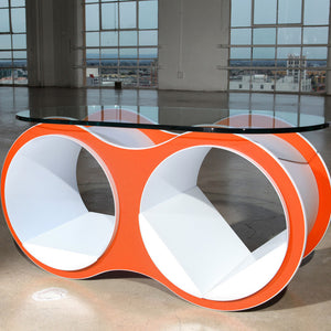Bolla Coffee Table Tangerine