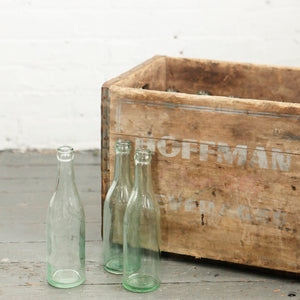 Hoffman Beverage Crate & Bottles