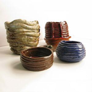 Ceramic Coil Pots Group 2 Of 4