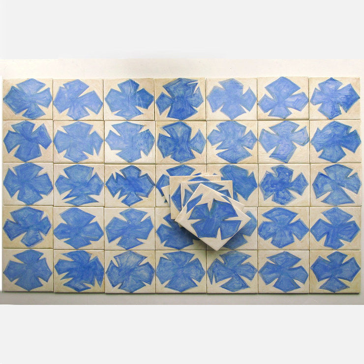 Abstract Matisse-esque Tiles 40
