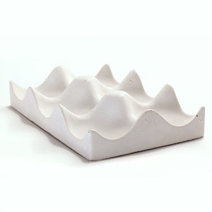 Concrete Hexi-Bowl White