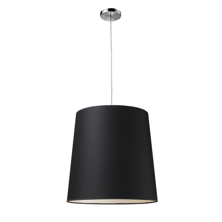 Couture 1-Light Pendant Black