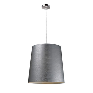 Couture 1-Light Pendant Silver