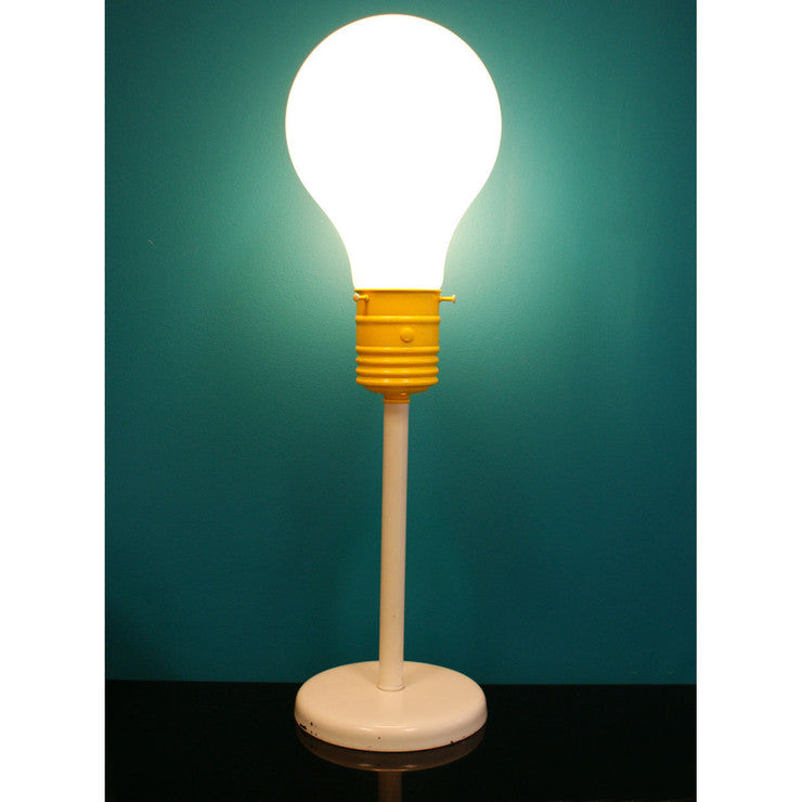 60s Light Bulb Table Lamp