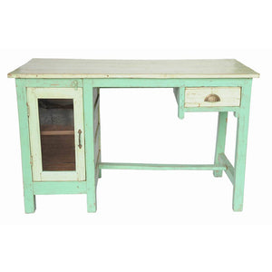 32\ Writing Table Teal""