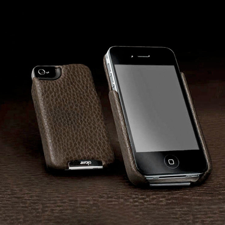 Grip iPhone 4/S Case Dark Brown