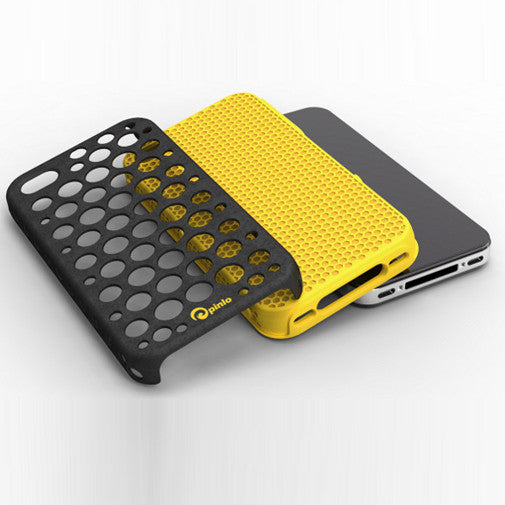 iPhone 4/4S Hybridue Case Yellow